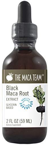Extracto de Maca Negra Líquida BIO, 59 ml, libre de alcohol, comercio Justo, elaborado a partir de Raices de Maca orgánica negra cultivada en Perú de forma tradicional, sin Gluten y Vegana.