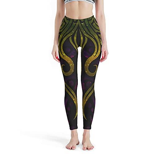 GOLUM Mysterious Cthulhu Leggings Moda Fitness Mystery Yoga Pantalones para Deportes Blanco 4XL