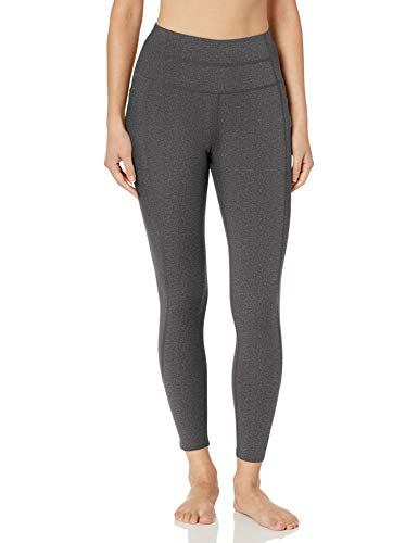Skechers womens 7/8 Go Flex Go Walk High-waist Backbend 2.0 Yoga Pants, Charcoal, 23 US