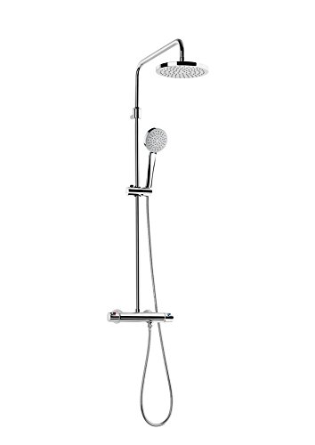 Roca A5A2018C00 Victoria - Columna termostática para ducha, Cromado