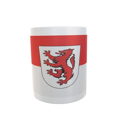 U24 Tasse Kaffeebecher Mug Cup Flagge Passau