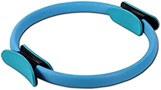 Pilates Ring, Pilates Magic Circle Dual Grip Handles Power Resistance Fitness Ring for Toning Thighs Abs and Legs for Wome...