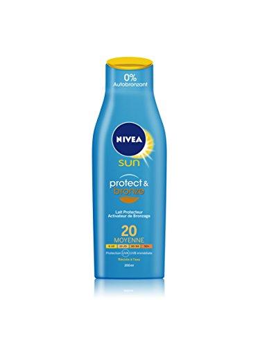 Nivea Sun Lait Protecteur Protect et Bronze FPS20 200 ml
