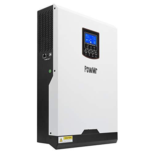 Plyisty Kit de inversor Solar, 5KVA/5000W 230VAC Salida 48VDC 50A Controlador de energía...