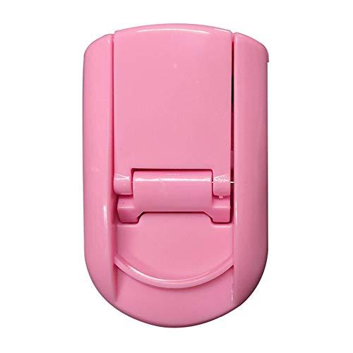 WYXJMJ Le Nouveau Mini Portable en Plastique cil recourbe Outils cil curleur Beauté Cils (Size : Maca Pink)