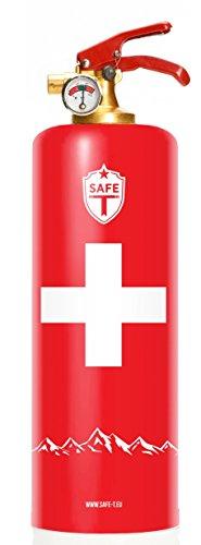 DNC-TAG Safe T Feuerlöscher Feuer Design SWISS SCHWEIZ