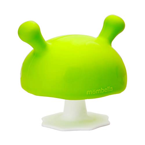 Buy Mombella Mimi the mushroom super soft silicone baby soothing teether toy, pacifier &breast shape...