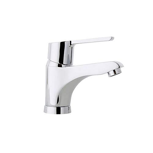Ramon Soler 46A305034 Atalanta – Grifo monomando de lavabo con sistema C3 de ahorro de agua del 50% y energía, limitador de temperatura tempostop y cromado Diamond Finish