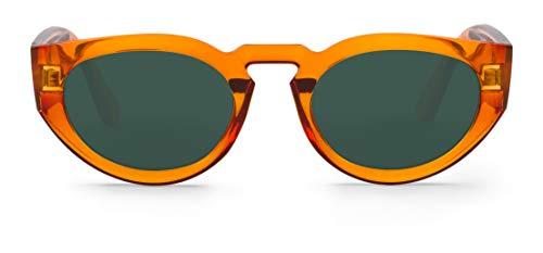 Mr Boho PSIRI Montures de Lunettes, Orange (Santa Fe/Classic Lenses), 48 Mixte Adulte