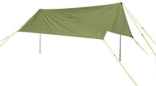 Wechsel Tents Tarp L Unlimited Line - Chapiteau en Bâche de Tente Imperméable, Robuste et Solide - 4 x 4,3 m - Vert