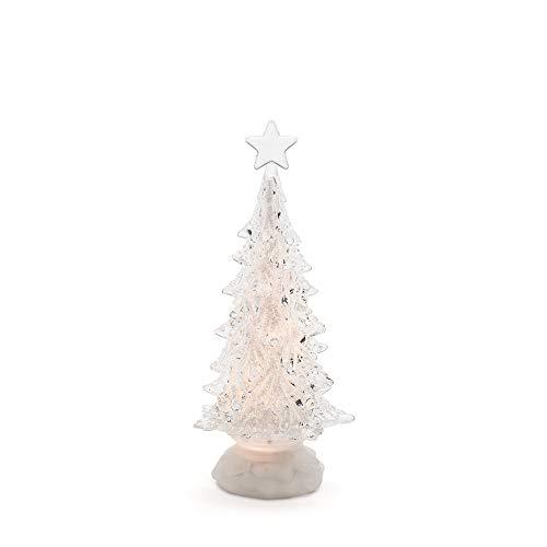 Konstsmide 2803-000 Sapin de Noël à LED, Acrylique, 0.1 W, Blanc, 16 x 12 x 37 cm