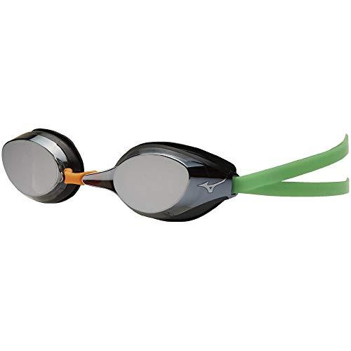 MIZUNO(ミズノ) スイミングゴーグル スイムゴーグル 水中眼鏡 N3JE9591 ライトスモーク×シルバーミラー