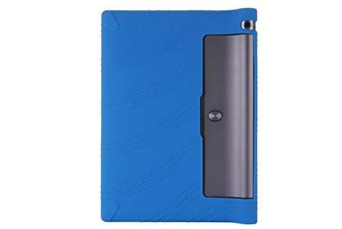 For Lenovo Yoga Tab 3 10 Silicone Case Cover Tab3 10.1 X50F Protector Soft Enclosure Yoga tablet 3 10.1 YT3-X50Y X50L Shell Fundas-Blue