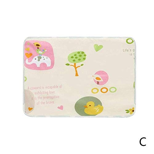 Find Discount New Baby Nappy Changing Pad Cotton Ecologic Diaper Changing Table Cartoon Baby Waterpr...