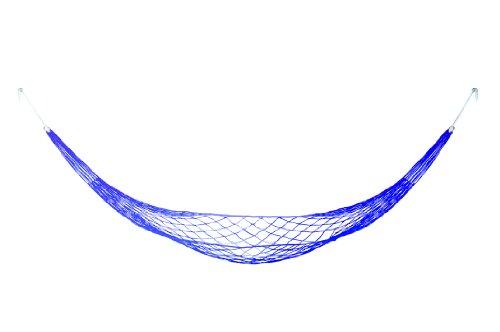 Wanted WA1022BL Hamac A suspendre Relax Bleu Intérieur et extérieur Nylon Avec crochets 270cm