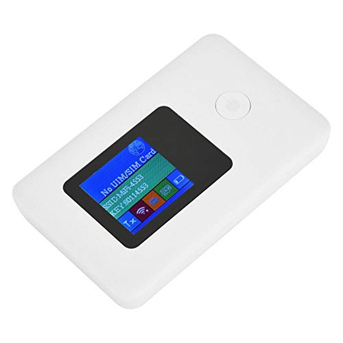 Hakeeta draadloze router, draadloze modem-router 4G met modem-functie, 2,4 GHz draadloze verbinding en 150 Mbps, ondersteunt SIM-kaartsleuf