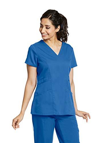 Grey's Anatomy 41452 V-Neck Top New Royal S