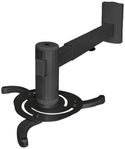 HQ TVS-HQ-PRO03B Beamer-Wandhalterung für Projektor (Belastbarkeit 10kg)