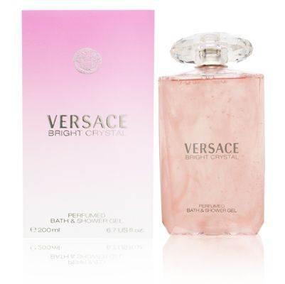 Versace Bright Crystal Perfumed Bath and Shower Gel 200 ml / 6.7 fl. oz.