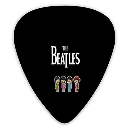 The Beatles - Juego de 6 púas de guitarra eléctrica ABS para...