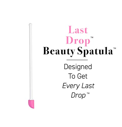 Beauty Shopping The Spatty, Last Drop Beauty Spatula, 6″, Pink, Reusable, Flexible, As Seen