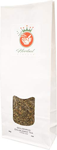 Goldenrod and Doublemint Loose Leaf Herbal Tea (50g Pack)
