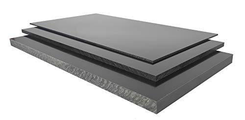 2,0 mm Hartpapier HP2061 schwarz ca. 500 x 250 mm PFCP 201