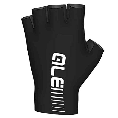 ALE Guanti Sunselect Crono Glove, NERO-BIANCO, XL