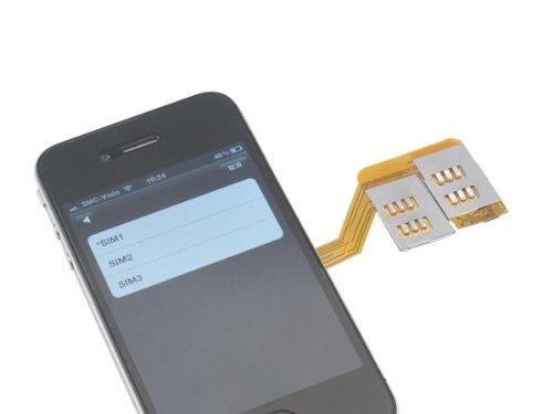Triple Sim Adapter für iPhone 4