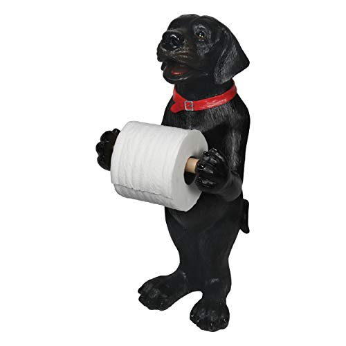 River's Edge 807 TP Holder - Standing Black Lab