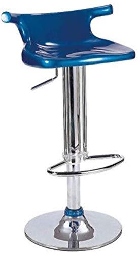 BDLYZ Yxsd B-presidentes Elegante Minimalista Taburete de la Barra de Metal del Material ABS + 360 ° de rotación se Puede Subir y Bajar la Tabla de heces del café de Alta heces