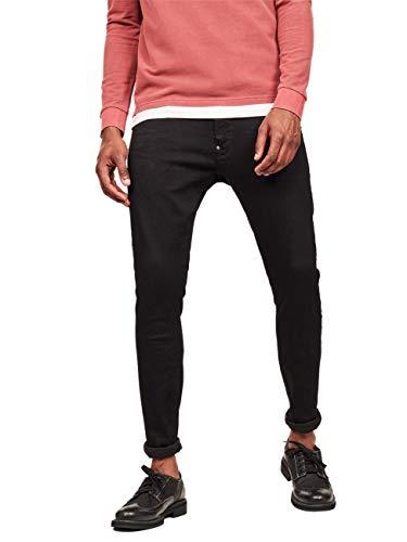 G-Star Herren Jeans Revend - Skinny Fit - Schwarz - Pitch Black, Größe:W 30 L 32, Farbe:Pitch Black (A810)