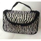 CJESLNA Fashion Zebra Pattern Lady Makeup Bag Women Portable Cosmetic...