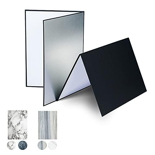 2 x A4 Reflector de Luz , Orthland 3 en 1 Reflector...