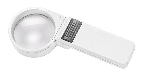 ESCHENBACH OPTIK Mobilux Economy Taschenleuchtlupe mit 5X Vergrößerung, Linse Ø 58 mm