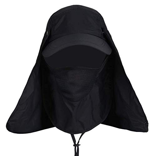 TWDYC GLUTINOUS Sombrero de Pesca de Playa de ala Ancha Plegable de protección UV for Exteriores con protección UV for Mujer (Color : D)