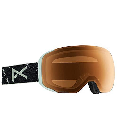Anon Masque de Snowboard M2 Topo Black/Sonarnight, Taille Unique