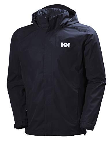 Helly Hansen Dubliner Jacket Chaqueta chubasquero para hombre de uso diario y para actividades marítimas con la tecnología Helly Tech