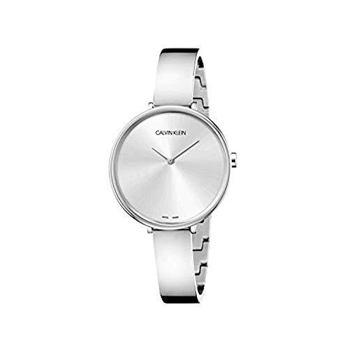 Calvin Klein Dames analoog kwarts horloge met roestvrij stalen armband 7.61264E+12