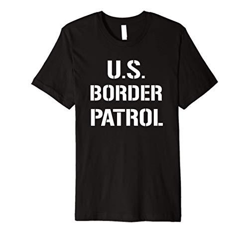 US Border Patrol Customs Immigration Halloween Costume Premium T-Shirt