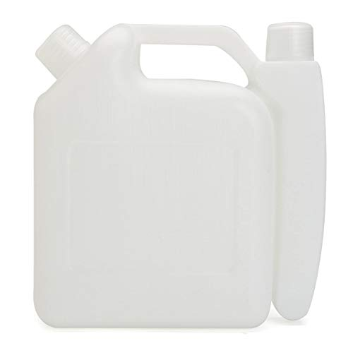 feilai Hardware & Accessories 1L 2-Takt Öl Benzin Mischflasche Tankbehälter 25:1 50:1 für Kettensägen Trimmer