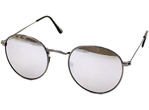 MONTANA MS92 Gafas, Multicolor (Gunmetal/Revo Silver Mirror), Talla única Unisex Adulto
