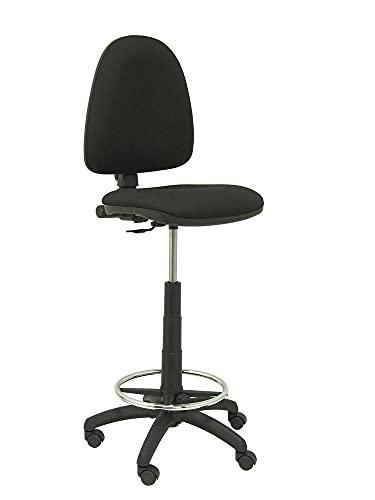 Piqueras Y Crespo T13CPARAN840 - Taburete ergonómico, color negro