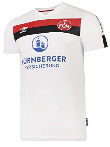 UMBRO Sport Herren 1. FC Nürnberg Trikot Away 2019/2020 Weiss 90706U 769640
