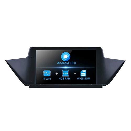 TOPNAVI 8 Pouces Android 10.0 Audio de Voiture pour BMW X1 E84 2009 2010 2011 2012 2013 2014 2015 Voiture d'origine système CIC Radio stéréo WiFi 4G RDSFM AM vidéo
