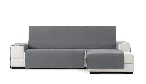 Eysa Funda chaisse Longue práctica Rabat Extra 290cm Color 06/Gris Oscuro, Derecha Vista Frontal