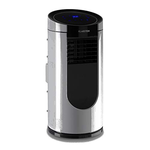 Klarstein Metrobreeze Miami - Mobile Air Conditioner, 9,000 BTU / 2.6 kW, 950 W, Air Flow: 380 m? / h Max, Recommended Room Size: 26-44 m?, Energy Efficiency Class A, 4 Modes, 3 Wind Speeds