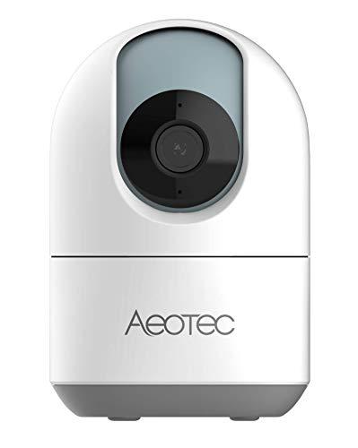 SmartThings WLAN IP Kamera Überwachungskamera 1080p Full HD Auflösung Nachtsicht 360° Personenerkennung Bewegungsverfolgung Rundumblick 2-Wege-Audio