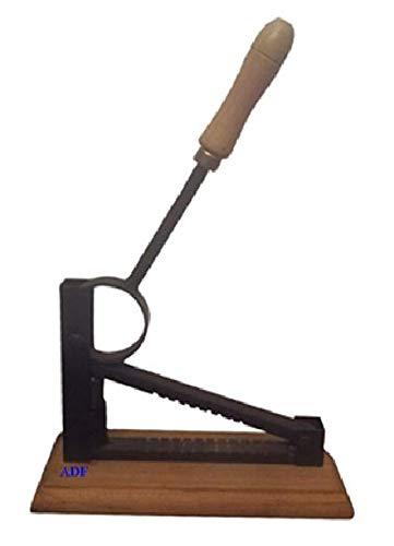 Partidor almendras manual con muelle interior no pilla los dedos,Facil manejo sin esfuerzos Hierro forjado y madera de...