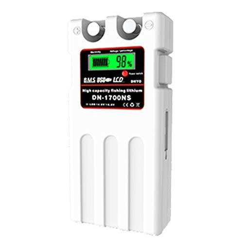 ダイワ シマノ 電動リール用 DN-1700NS 日本語説明書付きスーパーリチウム 互換バッテリー 充電器 セット 1...